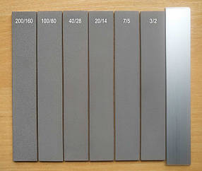 Брусок Ельборовий ПРЕМІУМ 150х25х3 зер.125/100 для ножа