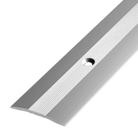 Алюминиевый профиль арт. 400 01/серебро 40х3х900 мм, фото 2