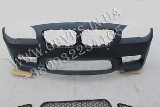 Передний бампер BMW F10 стиль М5