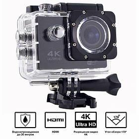 Водонепроницаемая спортивная экшн камера с пультом UKC DVR SPORT 4K CZS-S3R Wi Fi