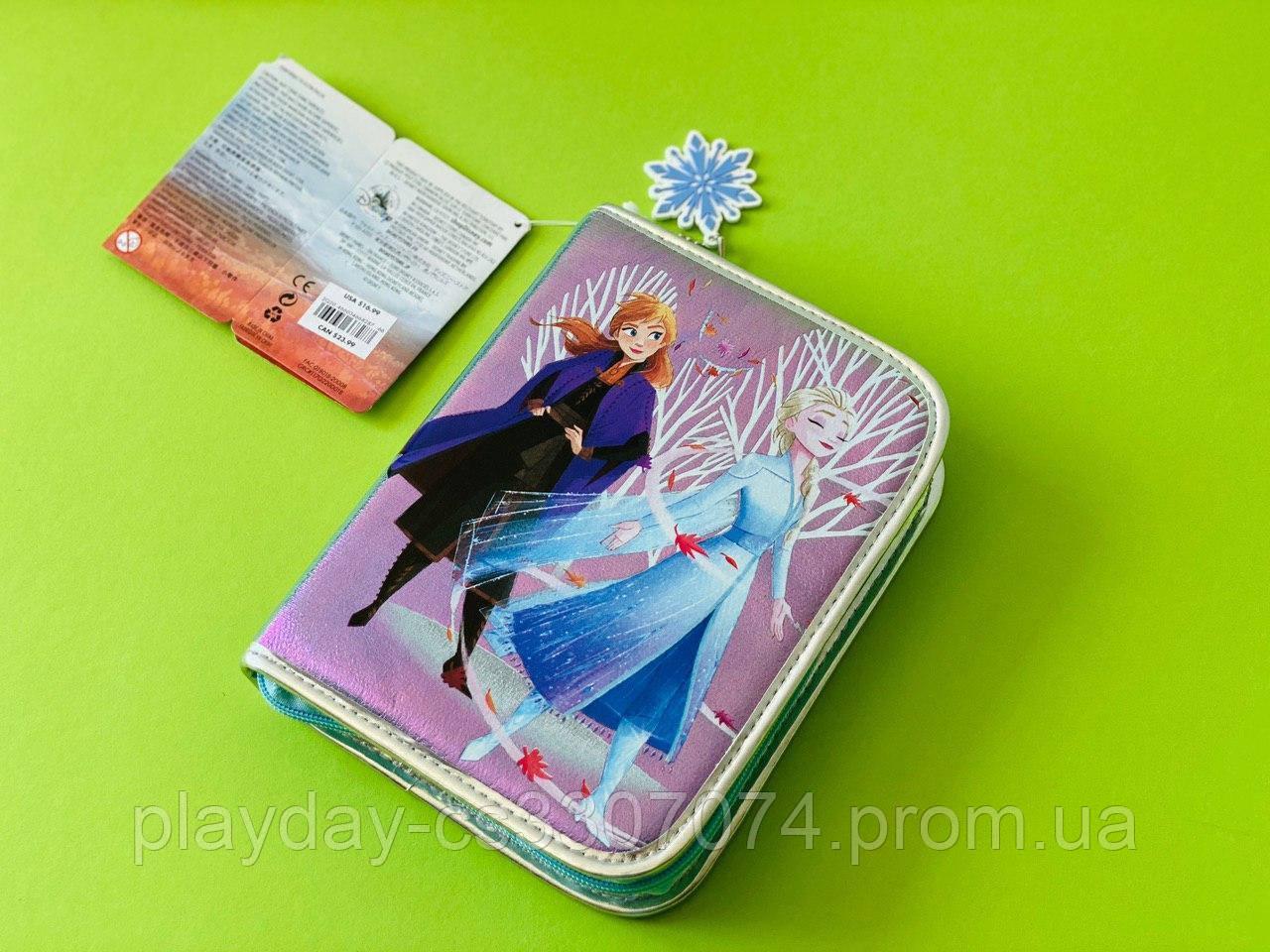 Школьный пенал для девочки Холодное сердце 2 с наполнением Disney Frozen 2