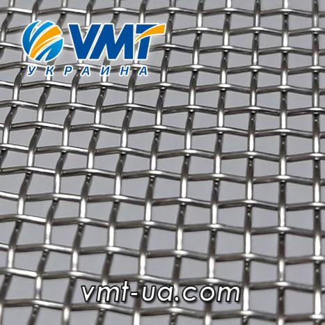 Сетка тканая нержавеющая 2,0х0,5 мм, ширина 1000мм