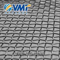 Сетка тканая нержавеющая 2,5х0,5 мм. 2-2,5-0,5. Ш 1500