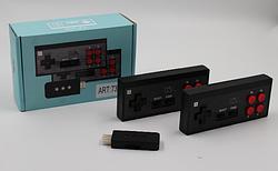 Игровая приставка с беспроводными джойстиками GAME 620