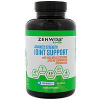 Zenwise Health, Поддержка суставов, состав для подвижности с глюкозамином, хондроитином и метилсульфонилметаном, 180 таблеток