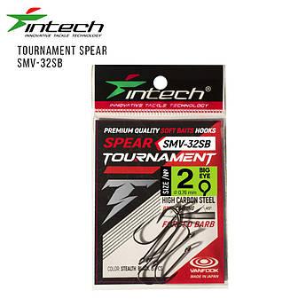 Крючки Intech Tournament Spear SMV-32SB #02 (6шт/уп)