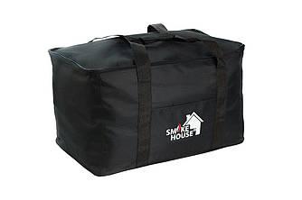 Большая сумка чехол для коптильни Черная