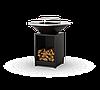 Гриль мангал Holla Grill барбекю с открытой тумбой Черный, фото 4