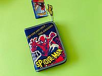 Школьный пенал для девочки Человек паук с наполнением Disney Spider-man