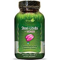 Мультивитамины для женщин, Steel-Libido, Irwin Naturals, 75 кап.