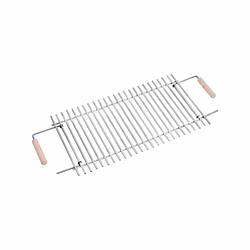 Решетка гриль для раскладных мангалов на 8 шампуров (Нержавеющая сталь)