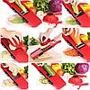 Овощерезка для овощей и фруктов Mandoline Slicer 6 in 1 c контейнером, слайсер , терка, фото 2