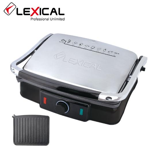 Электрический гриль LEXICAL LSM-2507  / 2200W / Контактный гриль