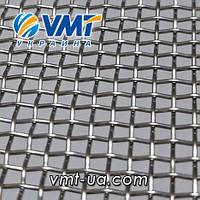 Сетка тканая нержавеющая 4,0х1,2 мм, Ширина 1000мм