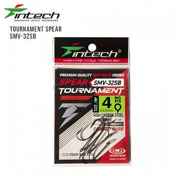Крючки Intech Tournament Spear SMV-32SB #04 (6шт/уп)