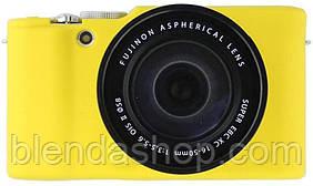Захисний силіконовий чохол для фотокамери FujiFilm XA2, XA1, XM1, XM2 - жовтий