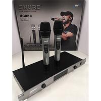Радиосистема Shure BLX/UGX8  2 микрофона, Радиомикрофон, радиосистема shure, shure радиосистема