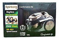 Контейнерный Пылесос Rainberg RB-653 2500W 3.5 л, пылесос для дома, пылесос контейнерный, пылесос на подарок