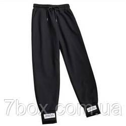 Спортивные женские штаны с биркой оптом. Украина. Черный 5шт