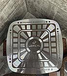 Набор кастрюль 20/24/28см LEXICAL LG-440601-2, антипригарное гранитное покрытие, 6 предметов,Choco, фото 5