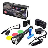 Подствольный фонарь Police BL-Q2800-T6, подствольный фонарь, подствольный фонарь для охоты, фонарь для ружья