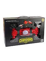 Машинка перевёртыш Champions 2766, трюковая машинка на радиоуправлении, управление с руки, Машинка Champions