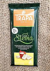 Trapa Stevia White Milk Chocolate75 gramm