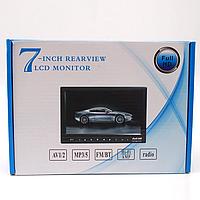 """Монитор для камеры заднего вида 7"""" USB/TF/MP5 / Автомобильный монитор для камеры, Монитор для камеры заднего"""