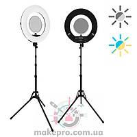 Кольцевая лампа ringO Bi color (black) Треснул корпус