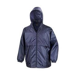 Мужская куртка ветровка темно-синяя R205-32