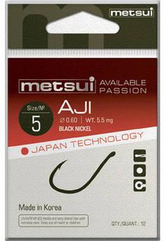 Крючки Metsui Aji 5 (12шт/уп)