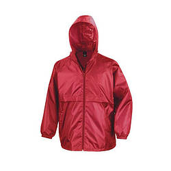 Мужская куртка ветровка красная R205-40