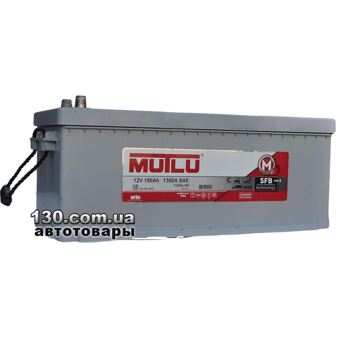 Аккумулятор автомобильный MUTLU 1D5.190.125.B 12 V 190AH EU