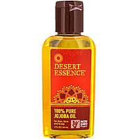 Масло жожоба (Jojoba Oil), Desert Essence, 60 мл