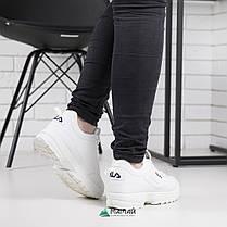 Кросівки жіночі Fila Disruptor 2 репліка, фото 2