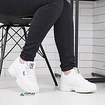 Кросівки жіночі Fila Disruptor 2 репліка, фото 3