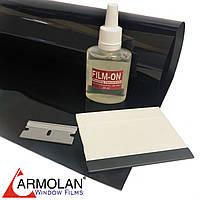Тонировочная плёнка XAR 20 CH (размер 0,75х3м) + инструмент для тонировки авто Armolan США цена за комплект, фото 1
