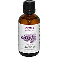 Лавандовое масло (Lavender), Now Foods, 59 мл
