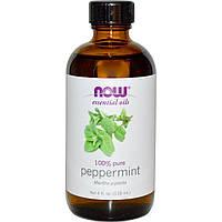 Мятное масло (Peppermint), Now Foods, 118 мл