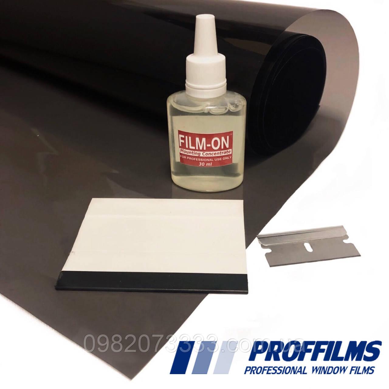 Плёнка PR CH 15% керамическая (0,75х3м) + инструмент. Тонировочная автомобильная пленка. Тонувальна плівка.