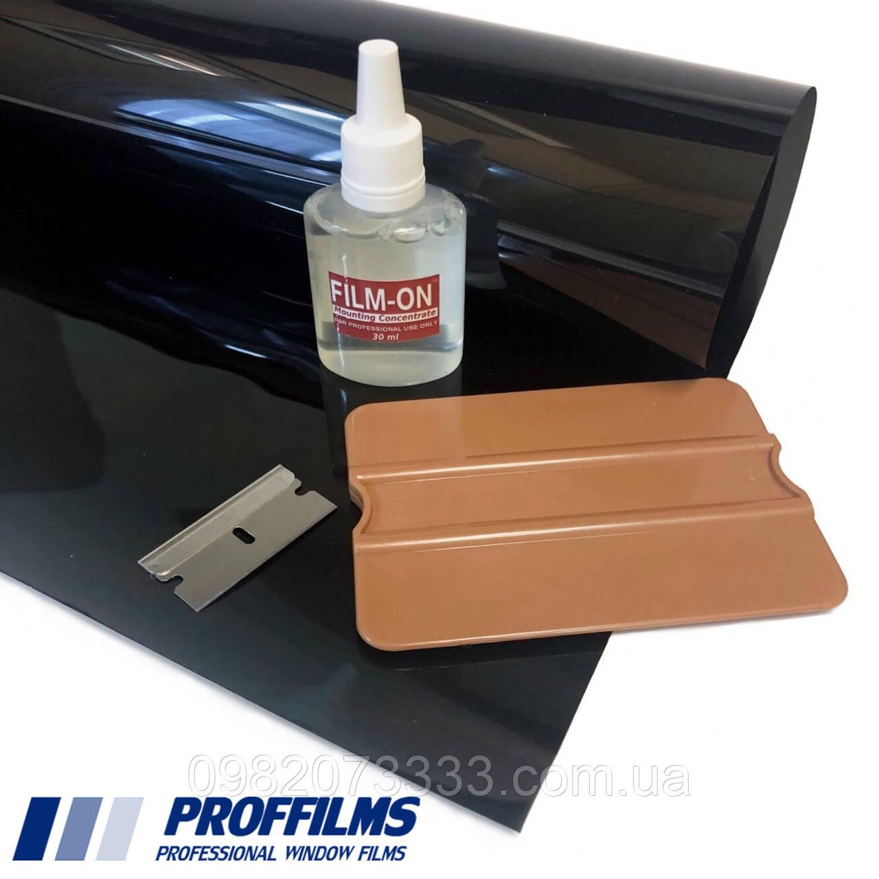 Плівка PR CH 15% керамічна (0,75х3м) + інструмент. Тонувальна автомобільна плівка. Тонувальна плівка.