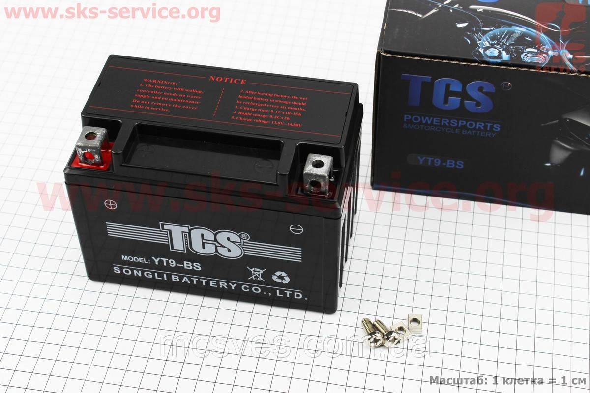 Аккумулятор TCS YT9-BS, 12V9Ah