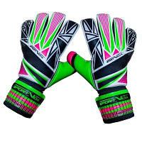 Вратарские перчатки SportVida зеленые Size 9 SV-PA0018 SKL41-160737