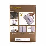 Электрический чайник LEXICAL LEK-1401 1.7л, 2200Вт (Бежевый, Розовый), фото 5
