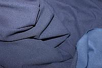 Темно синий. Диагональ креп дайвинг (плотный мягкий диагональный рубчик)