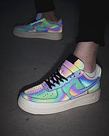 Nike Air Force Low Leather Reflective