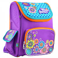 Ортопедический школьный рюкзак (ранец) для девочки, 1-5 класс, объем 14 л