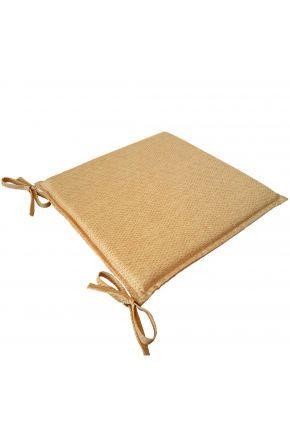 Подушка на стілець 40х40 Еліт Жовта