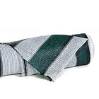 Сетка затеняющая KARATZIS 65% 2мх50м, 100м.кв. Бело-зеленая в полоску