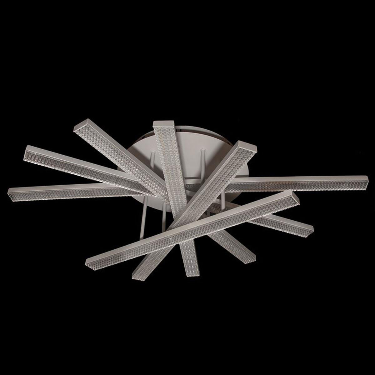 Светодиодная люстра потолочная для дома с пультом 120W Линия солнца&5317/6